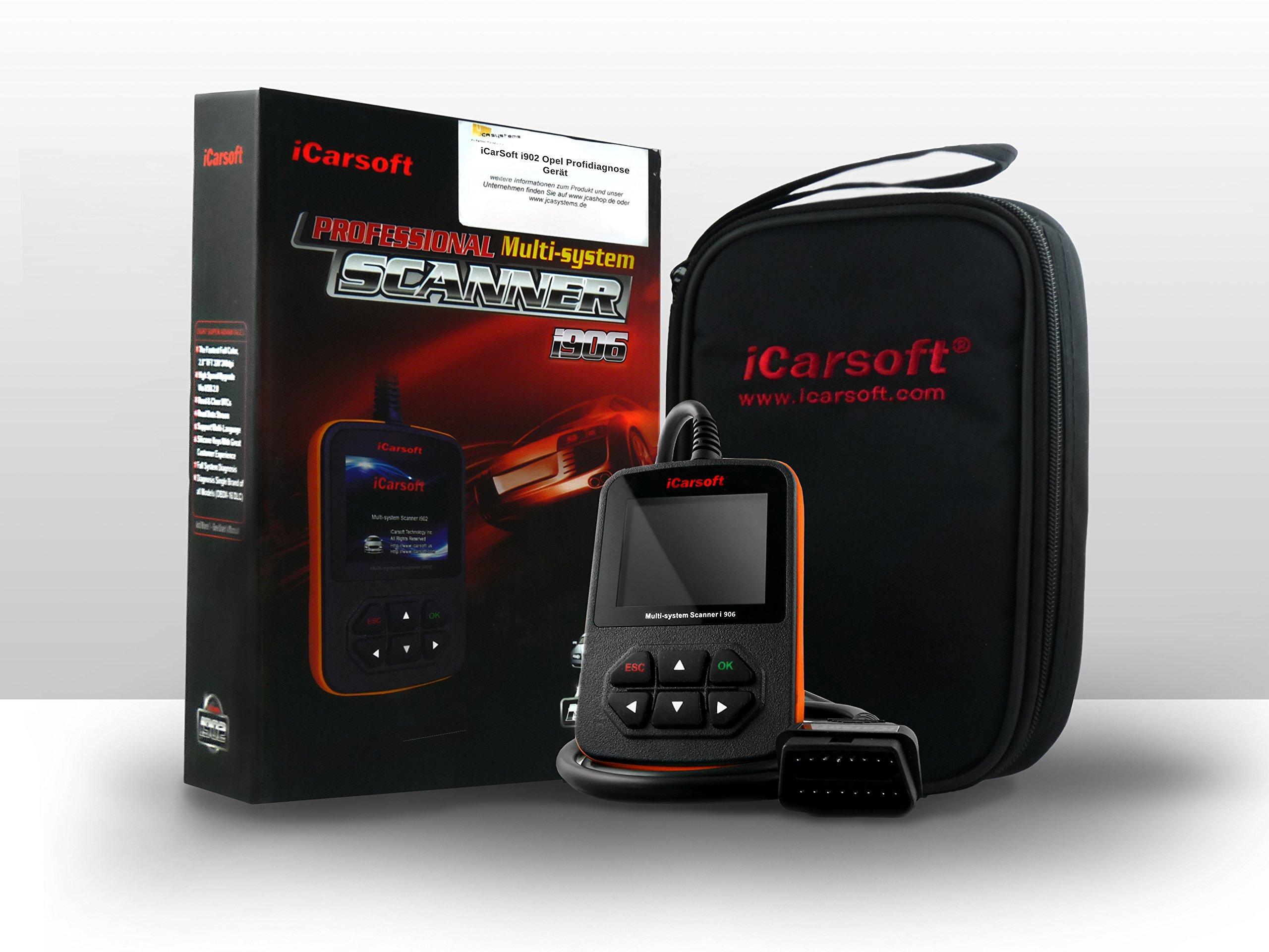 VOLVO iCarsoft i906 OBD2 Engine Vehicle Diagnostic Tool Code Fault Multi-System OBD-II Scanner