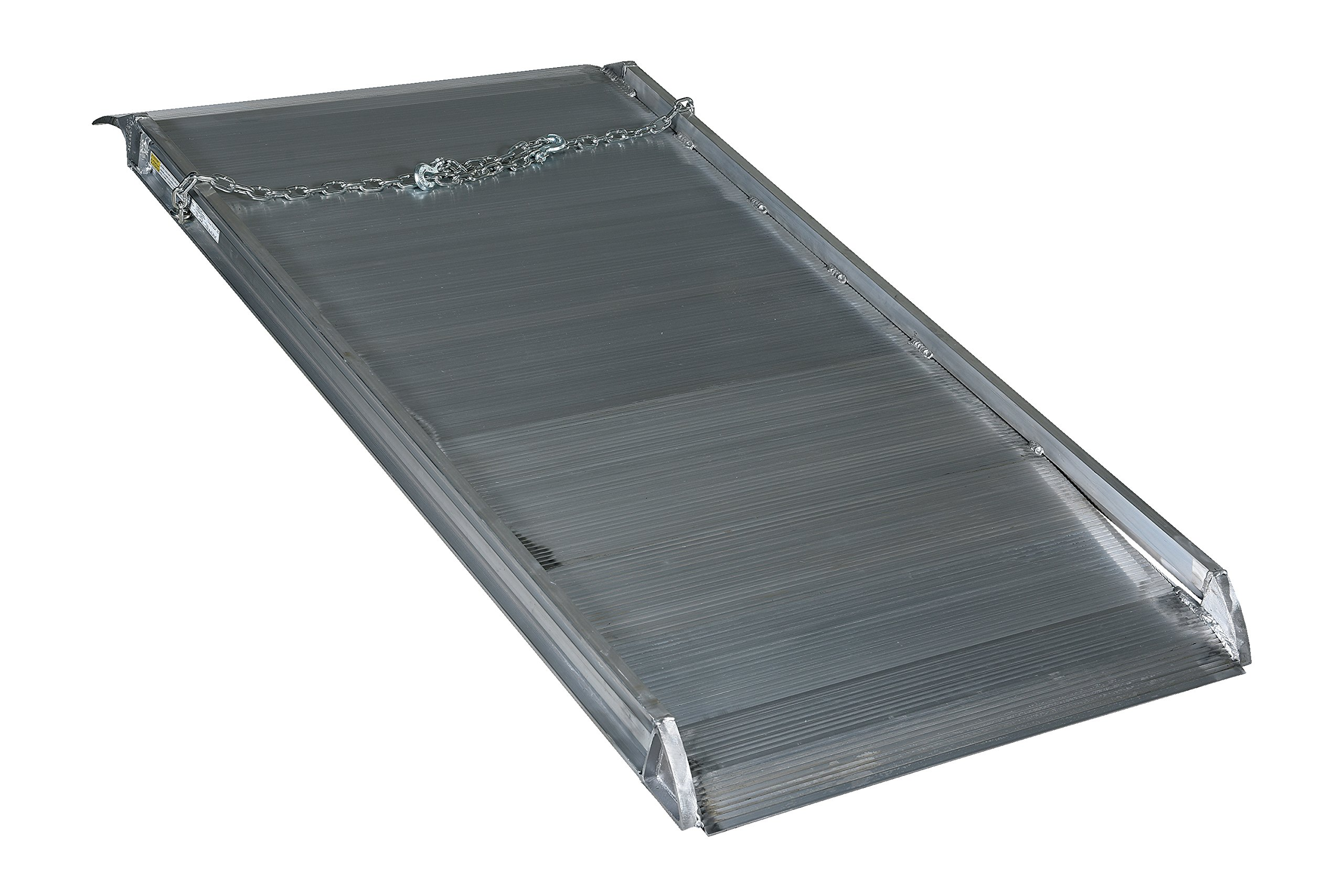 Vestil AWR-38-6A Aluminum Walk Ramp Overlap Style, 2800 lb., 72'' Length, 38'' Width, 4.75'' Height