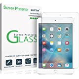 iPad Mini 4 Screen Protector Glass, amFilm Tempered Glass Screen Protector for Apple iPad Mini 4 2015 0.33mm 2.5D Rounded Edge (1-Pack)
