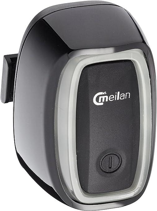 Meilan X6 inteligente USB trasera recargable LED racionalice/cola bicicleta luz intermitente con movimiento y Sensor de luz en/fuera. 50 Lumens multi modo de iluminación. Liberación rápida instalación.: Amazon.es: Deportes y aire libre