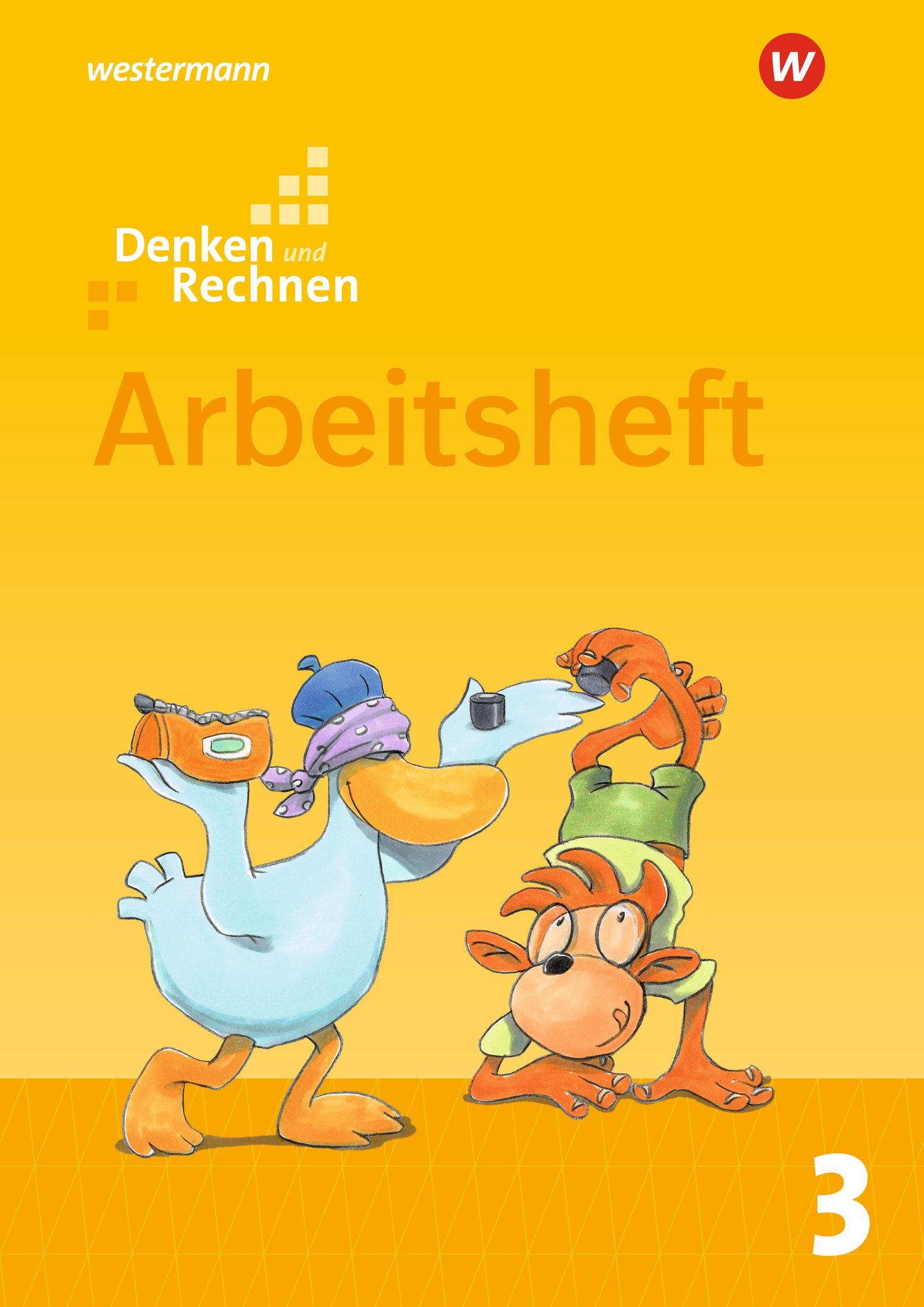 Denken und Rechnen - Allgemeine Ausgabe 2017: Arbeitsheft 3