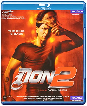 DON -2 Hindi Blu Ray Fully Boxed with French, Dutch, English
