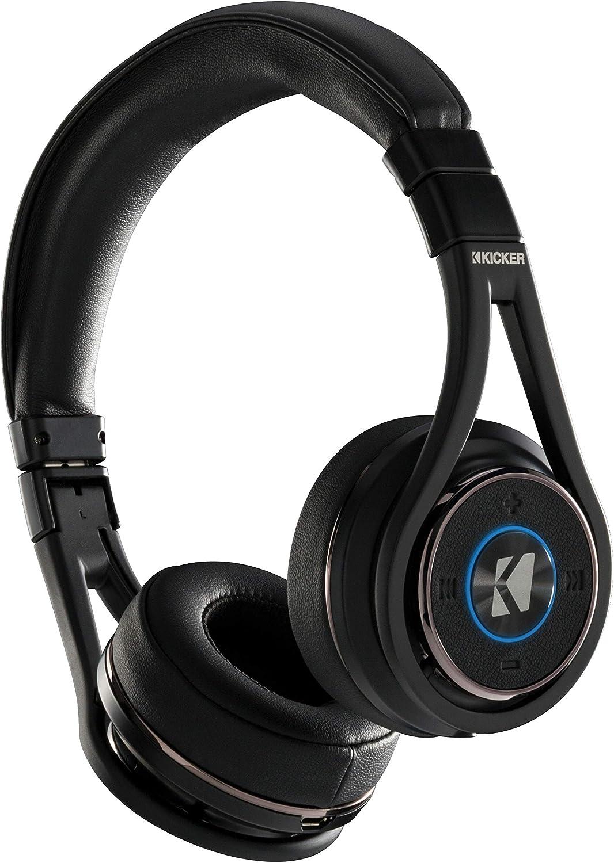 Kicker CushBT Bluetooth Headphones Wireless Passive Noise Canceling Earphones