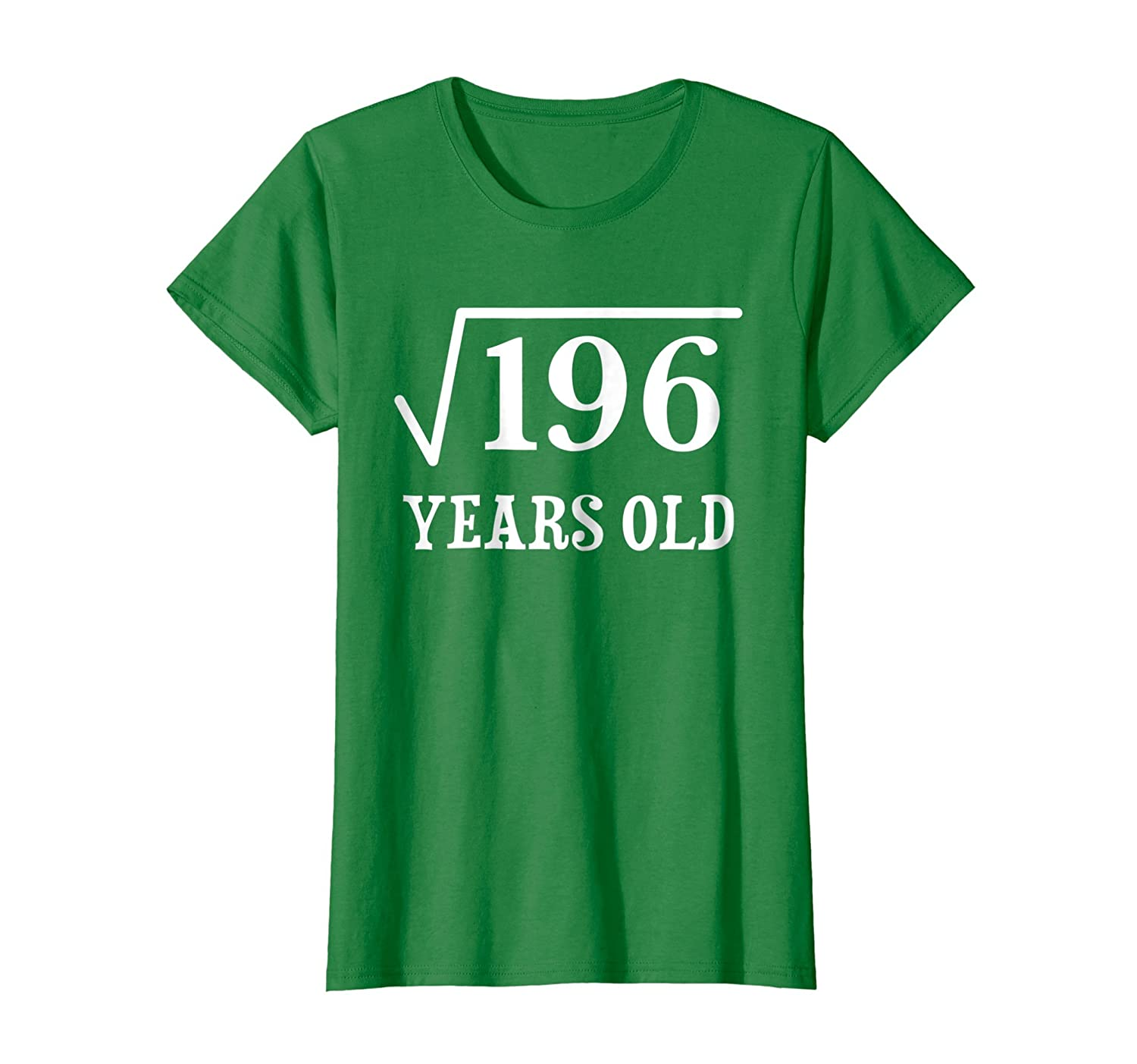 Square Root of 196 14 yrs years old 14th birthday T-Shirt-Newstyleth