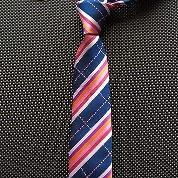 WOXHY Corbatas 7 Cm para Hombres Rayas Corbata Paisley Corbatas ...