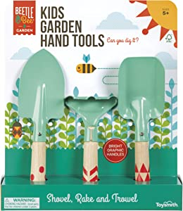Beetle & Bee Kids Garden Hand Tools - Colors May Vary