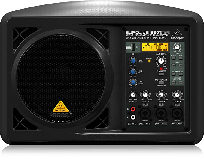 Behringer B207MP3 Professional Powered Speakers: Amazon co uk