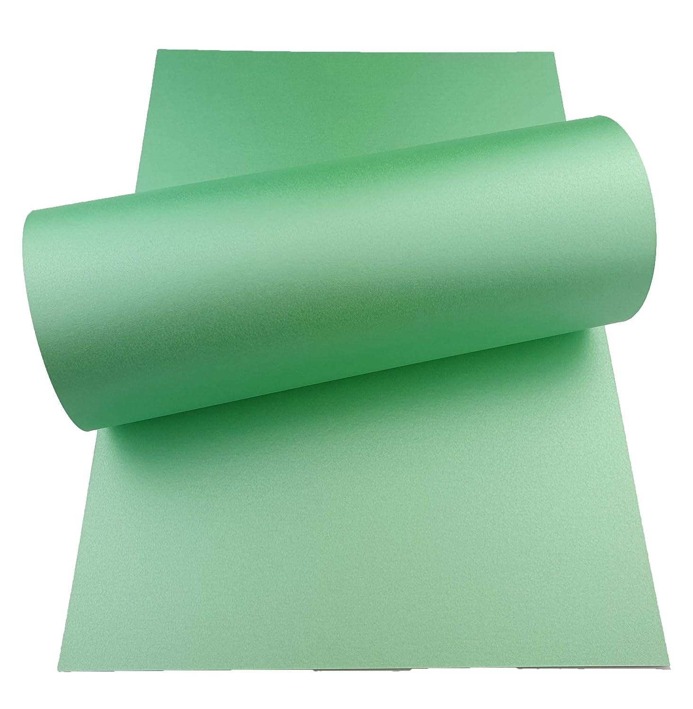 Mufira Perlglanz-Karton, 300 g m², einseitig, A4, Jadegrün B07PPPSWCX | Authentisch  | Vielfalt  | Genial