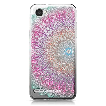 CASEiLIKE® Funda LG Q6, Carcasa LG Q6, Arte de la Mandala 2090, TPU Gel Silicone Protectora Cover