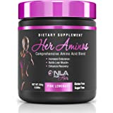 NLA for Her - Her Aminos - Comprehensive Amino Acid Blend - Supports Increased Endurance, Building Lean Muscle, & Enhanced Recovery - Pink Lemonade - 254 Grams