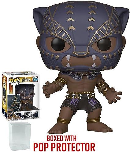 6b2e697e73d Amazon.com  Funko Pop! Marvel  Black Panther - Black Panther Warrior ...