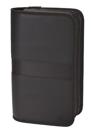 Amazon.com: Case Logic EKW-112 112 Capacity Koskin CD Case (Black ...