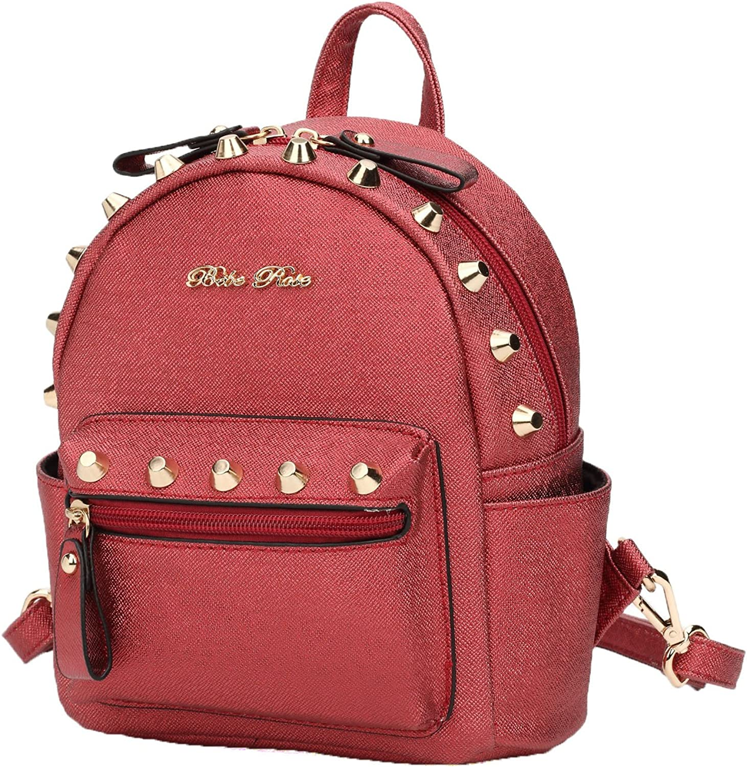 Hearty Trendy Signature Series Fashion Design Studded Mini Backpack