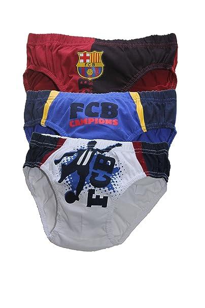 Barcelona F.C. - Calzoncillo - para niño Rojo granate