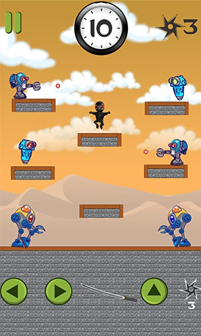 Amazon.com: 10 Seconds Ninja Free: Appstore for Android
