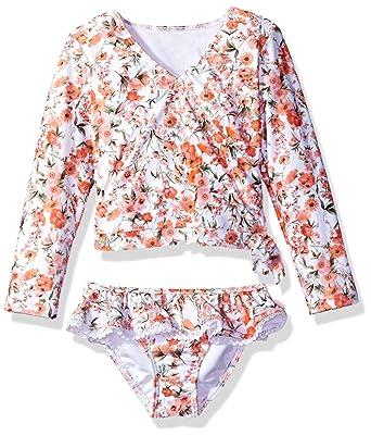 Seafolly Little Girls Wild Poppy Dress