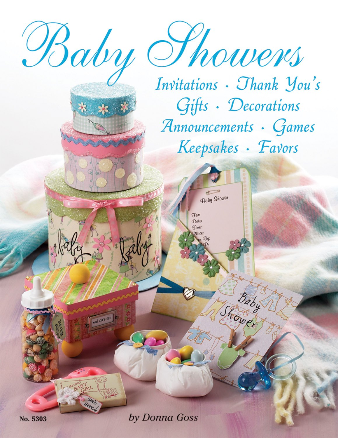Baby Showers: Invitations, Thank You's, Gifts, Decorations, Announcements,  Games, Keepsakes, Favors (Design Originals) Paperback – January 1, 2006