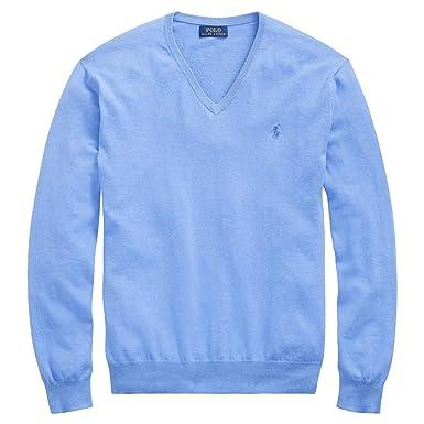 971a99a00c62 Polo Ralph Lauren Men s Big   Tall Pima Cotton V-Neck Sweater at ...