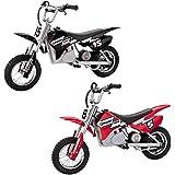 Razor Dirt Rocket Kids Electric Motocross Motorcycle Bikes, 1 Black & 1 Red
