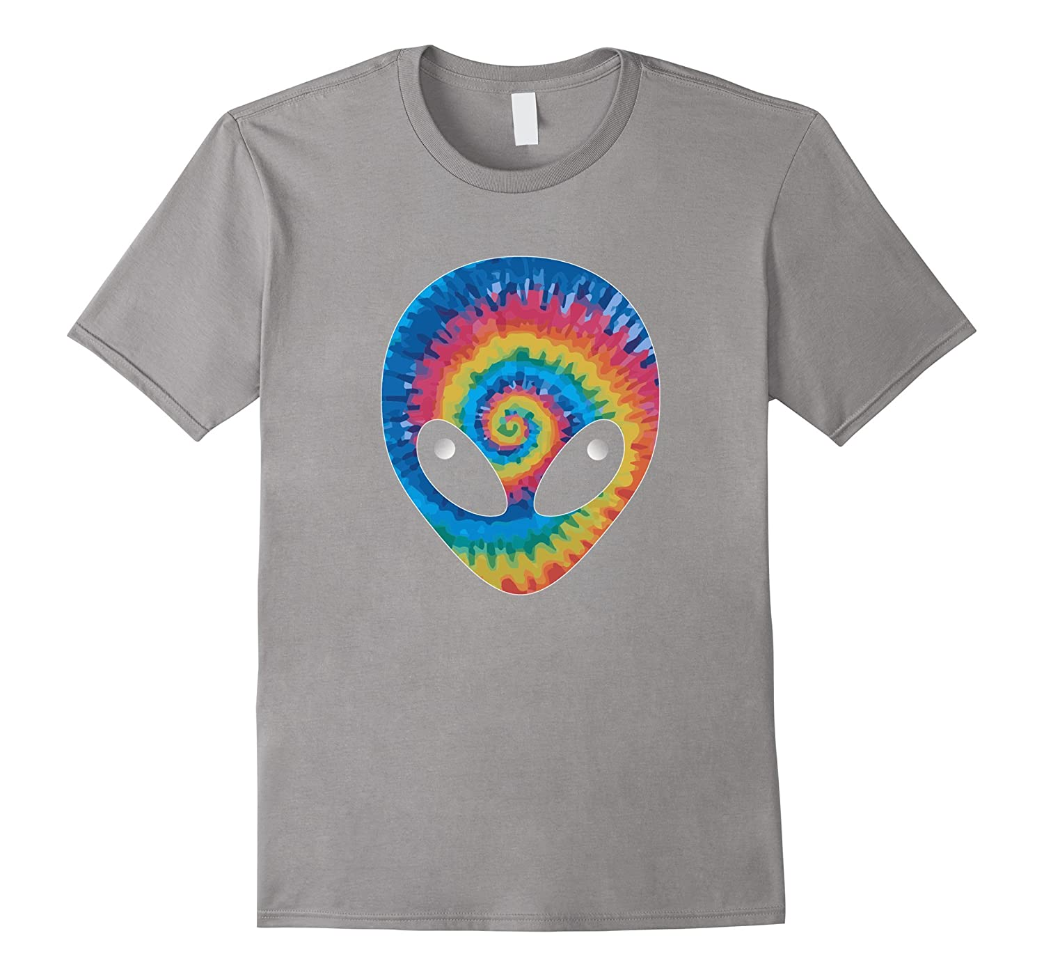 ALIEN HEAD TIE DYE T-SHIRT-TH