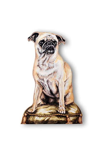 Amazon Stupell Home Dcor Pug Decorative Dog Door Stop 18 X