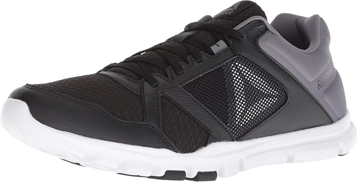 edfa74d9cc3f8a Reebok Men s Yourflex Train 10 Cross Trainer Black Shark White 7 ...