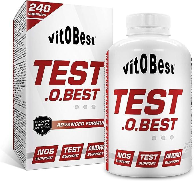 TEST.O.BEST 240 Caps. - Suplementos Alimentación y Suplementos Deportivos - Vitobest