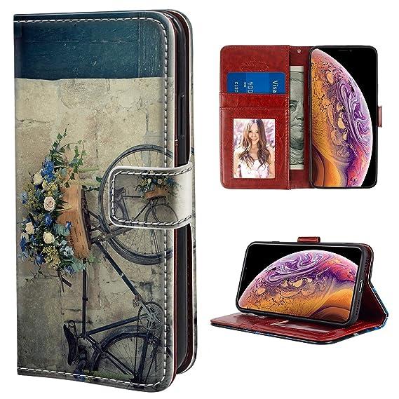 Amazon.com iPhone Xs Max Case, Wallet Case Premium PU