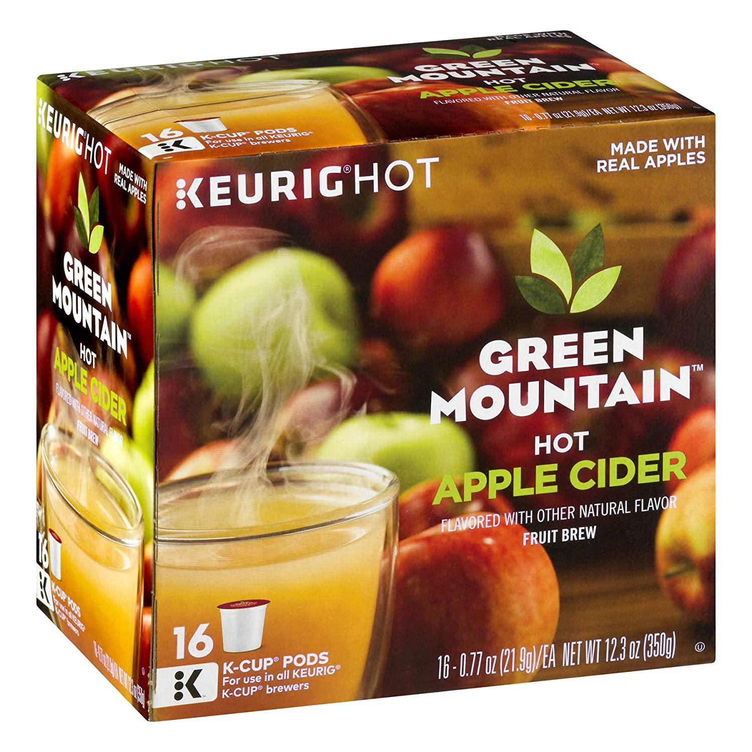 Green Mountain Hot Apple Cider K-CUP 32 Pack