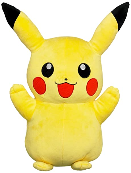 Amazoncom Pokemon 13 Large Plush Pikachu Dispatched Rom Uk