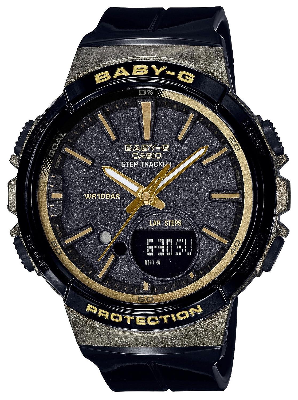 [カシオ]CASIO 腕時計 BABY-G ベビージー ~フォーランニング~ ステップトラッカー BGS-100GS-1AJF レディース B075D24HNH