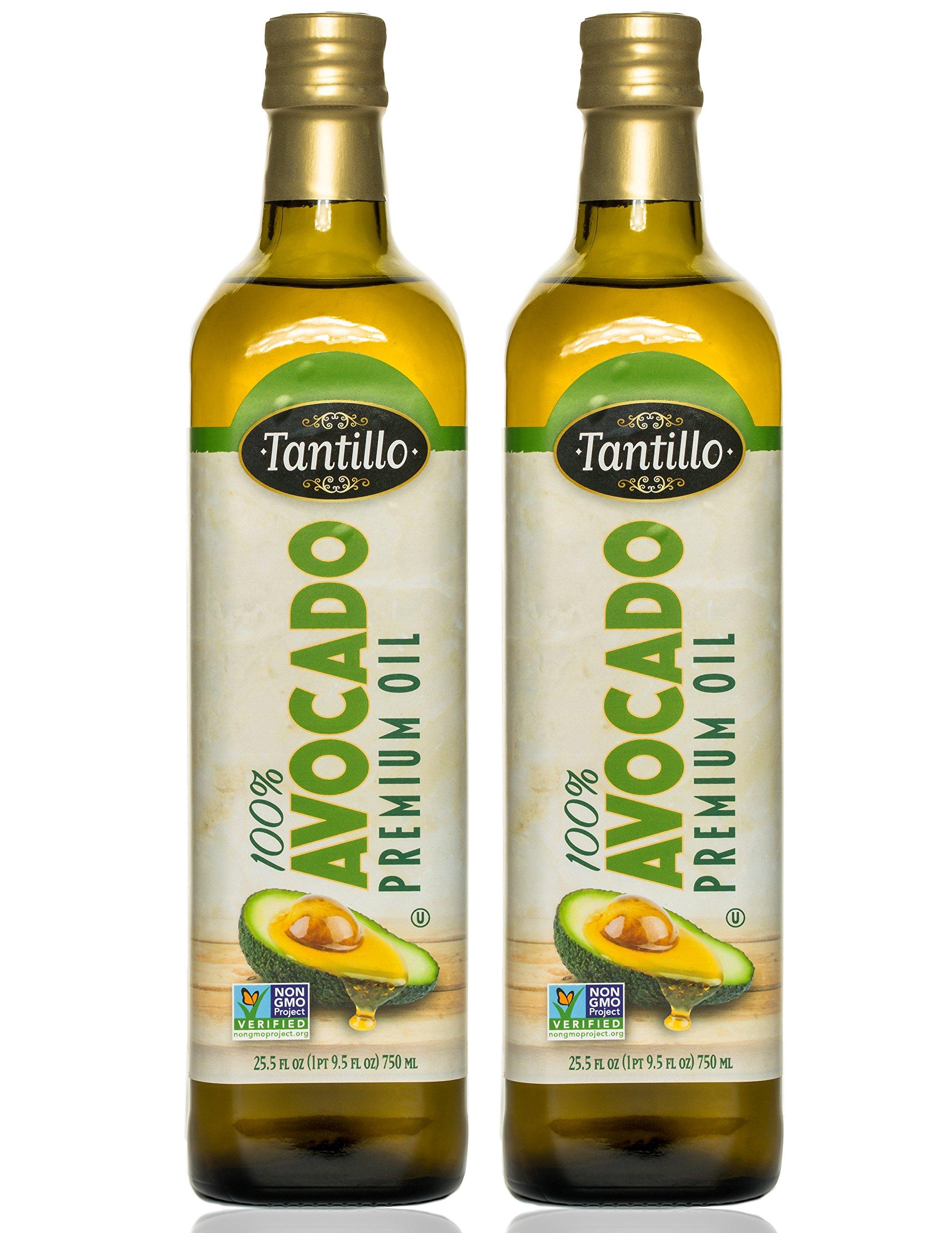 Tantillo 100% Avocado Premium Oil (Pack of 2)