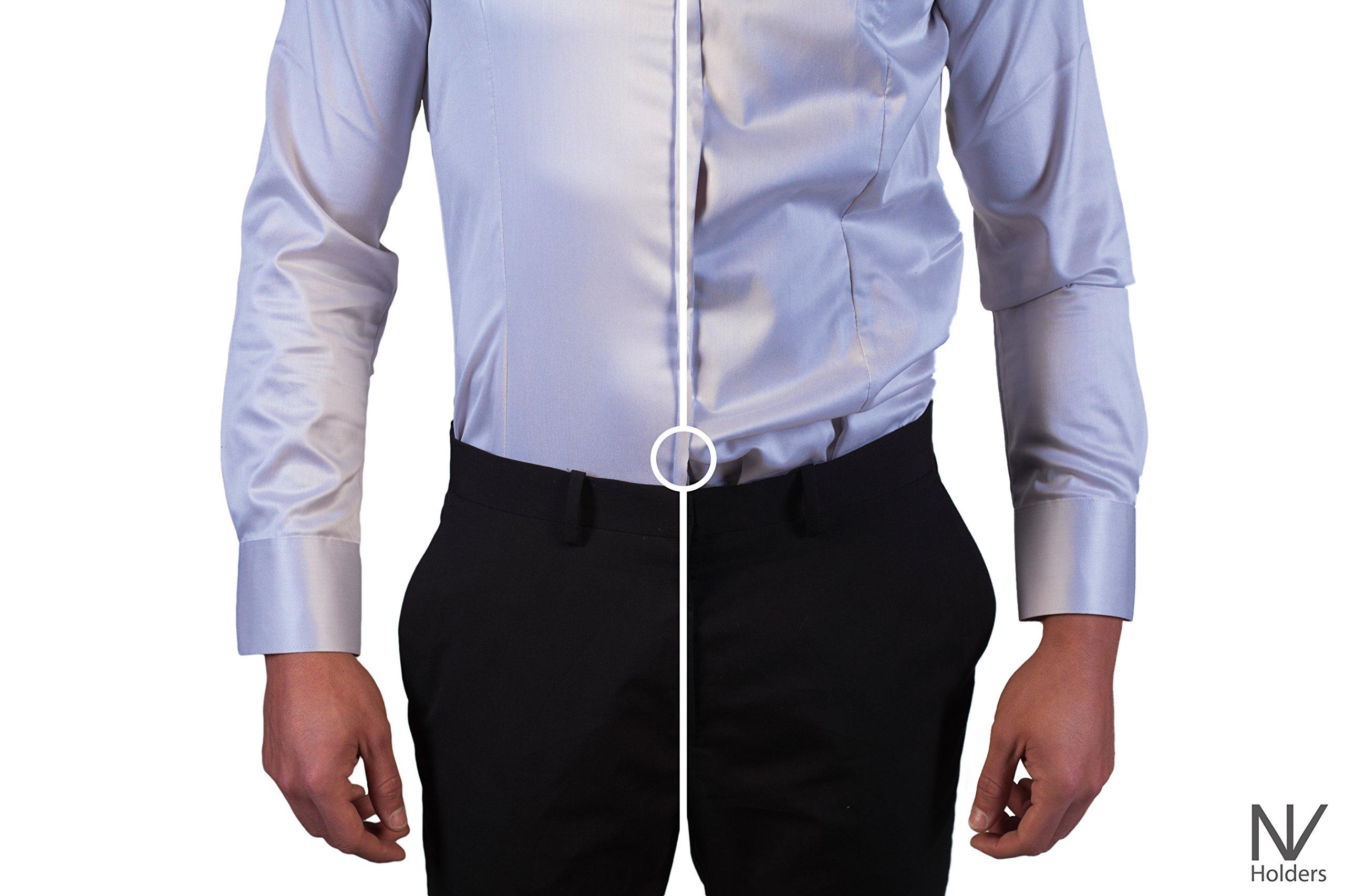 NV Holders Shirt-Holder Color Beige Size S by NV Holders (Image #7)