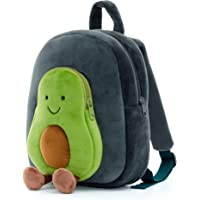 Lazada Backpack for Kids Plush Backpack Toy Gifts for Baby Doll Books Bag Green Avocado 11 Inches
