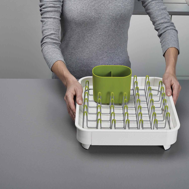 Joseph Joseph Expandable Dish Drainer Drying Rack Granite Kitchen Sink Plates