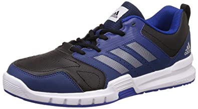 Adidas Essential Star 3 M, Chaussures de Fitness Homme, Multicolore (CblackSilvmt