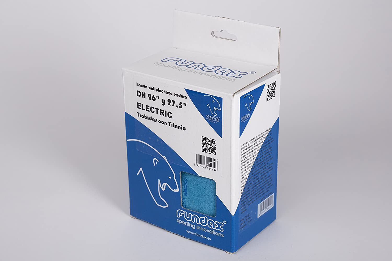 FUNDAX DH Electric Pack Banda Antipinchazos, Azul, 26