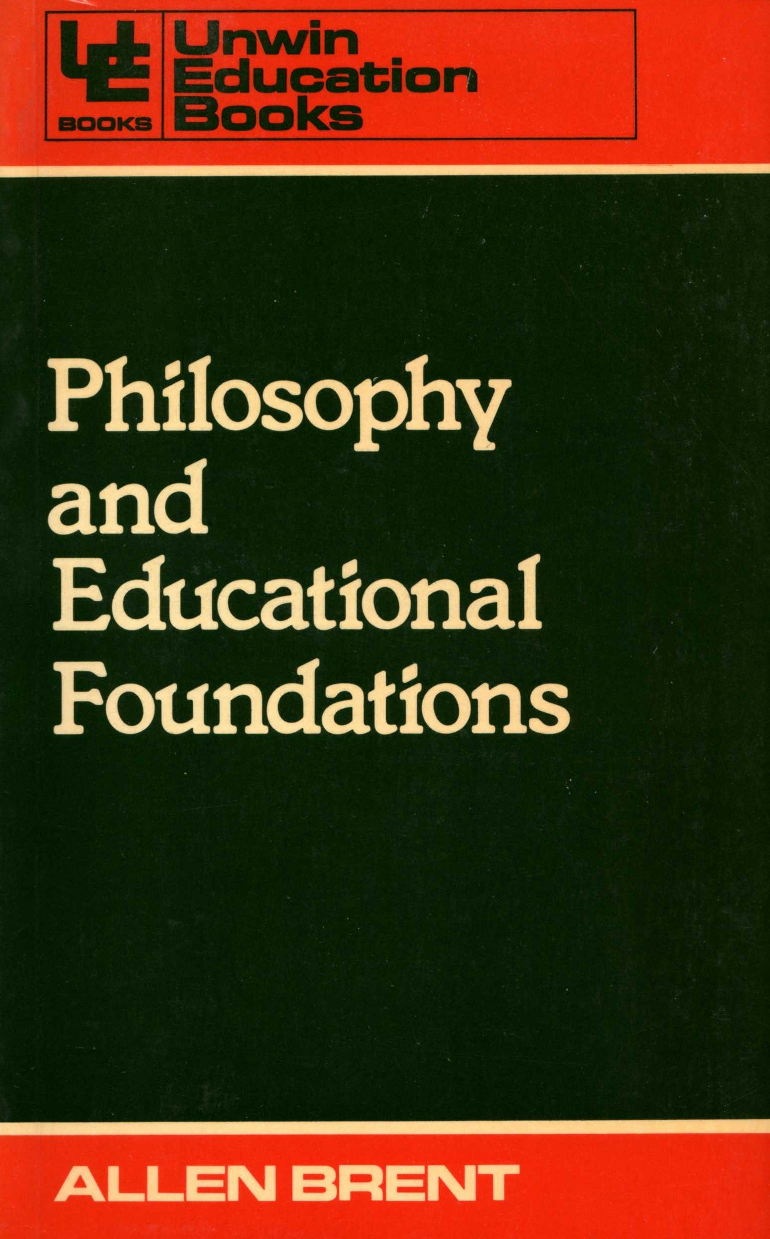 amazon philosophy and educational foundations education books