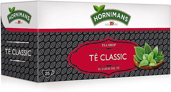 Hornimans - Tea Shop Té classic - Bolsitas De Té - 25 bolsitas ...
