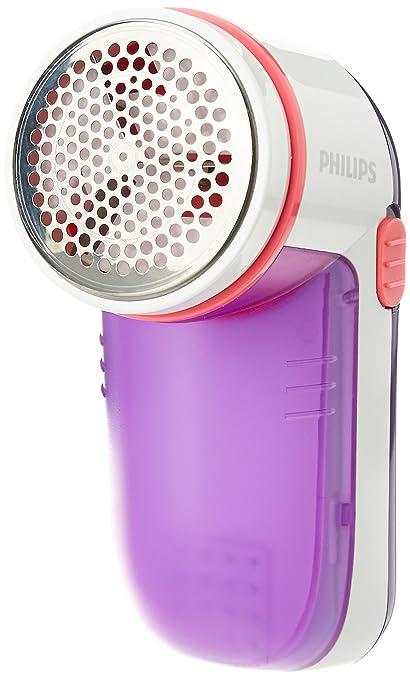 Philips GC026/30 Fabric Shaver (White/Purple)