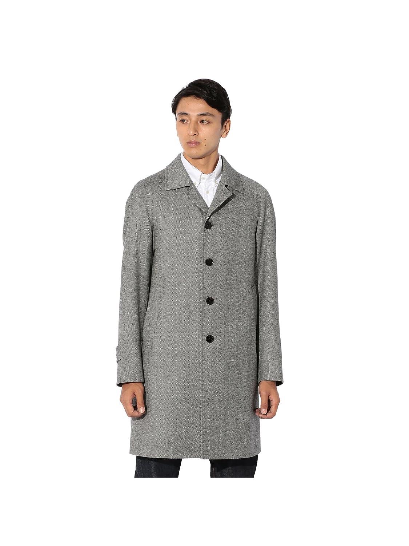 (サンヨー) SANYO 【Rain Wool】梳毛へリンボンバルマカーンコート P1B70610_ B0787WYWFV L グレー(05) グレー(05) L
