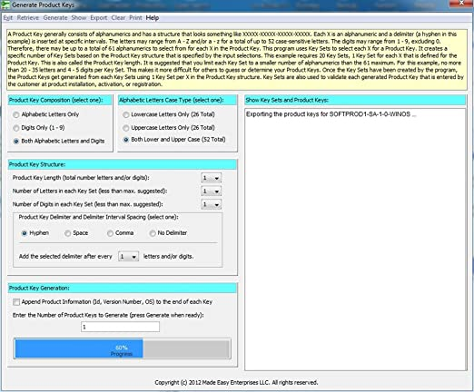 software product key generator