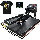 "RoyalPress 15"" x 15"" Color LED Industrial-Quality Digital Sublimation Heat Transfer Machine T-Shirt Heat Press Machine, 15"" x"