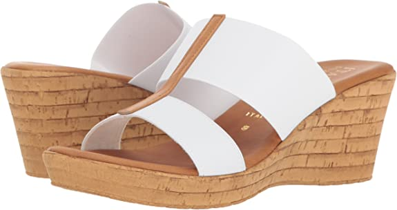 Italian Shoemakers Women's Golden Wedge