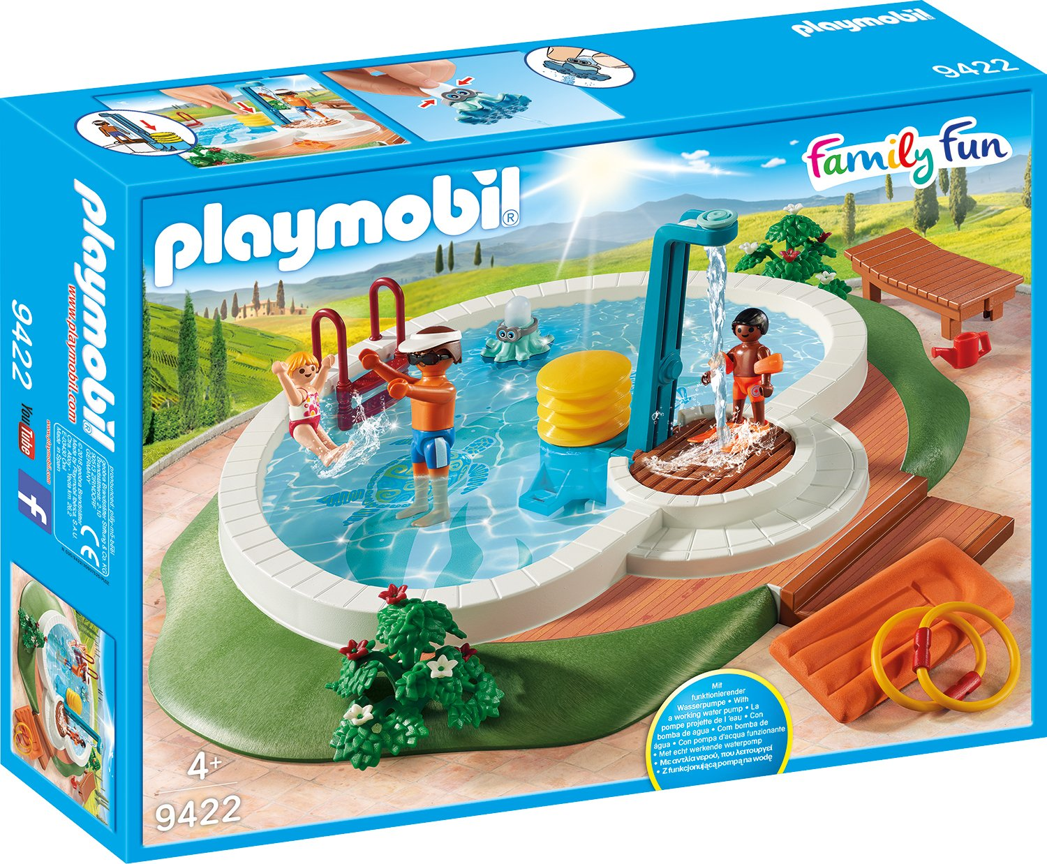 PLAYMOBIL 9422 Swimming Pool - NEW 2018
