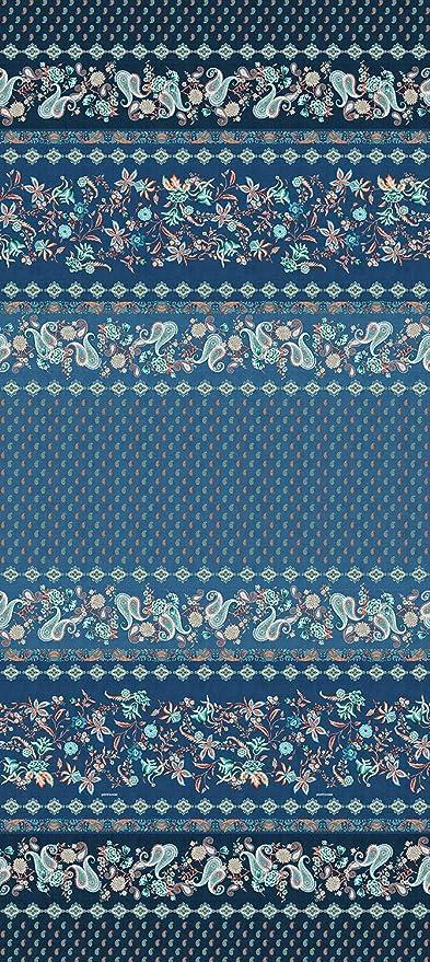 Bassetti FABRIANO Foulard, algodón, Azul, 180x270: Amazon.es: Hogar