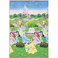 Tapete Recreio Disney Trip Princesas JolitexRosa 120x180cm