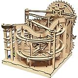 ツクロウ ビー玉コースター ( ビーコス ) 組立てキット 木製パズル 立体パズル 手回し プレゼント