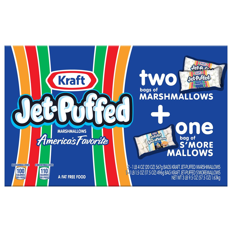 Kraft Jet-Puffed Marshmallows Multipack (3 pk.) (pack of 6)