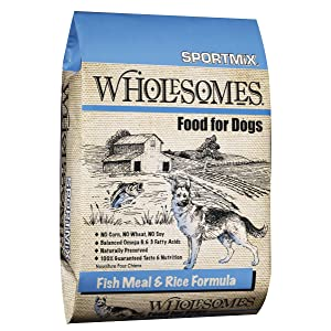 Rice & Wholesome Fish Dry Dog Food Formula SPORTMiX